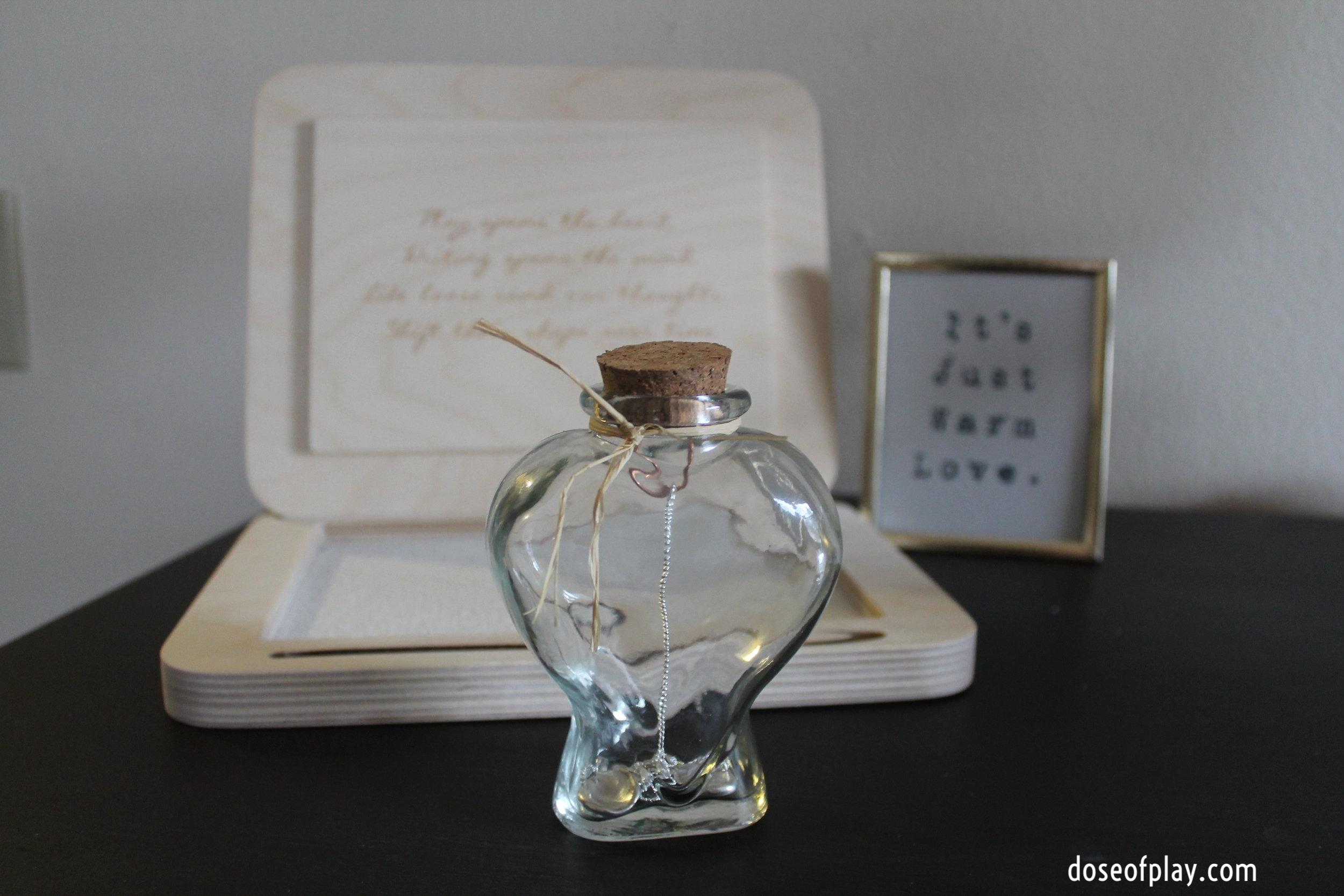 LillyDip gift heart jar