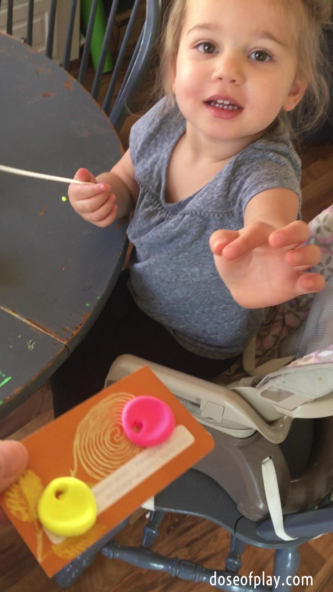 Model Magic Kid Impression Pendant Making