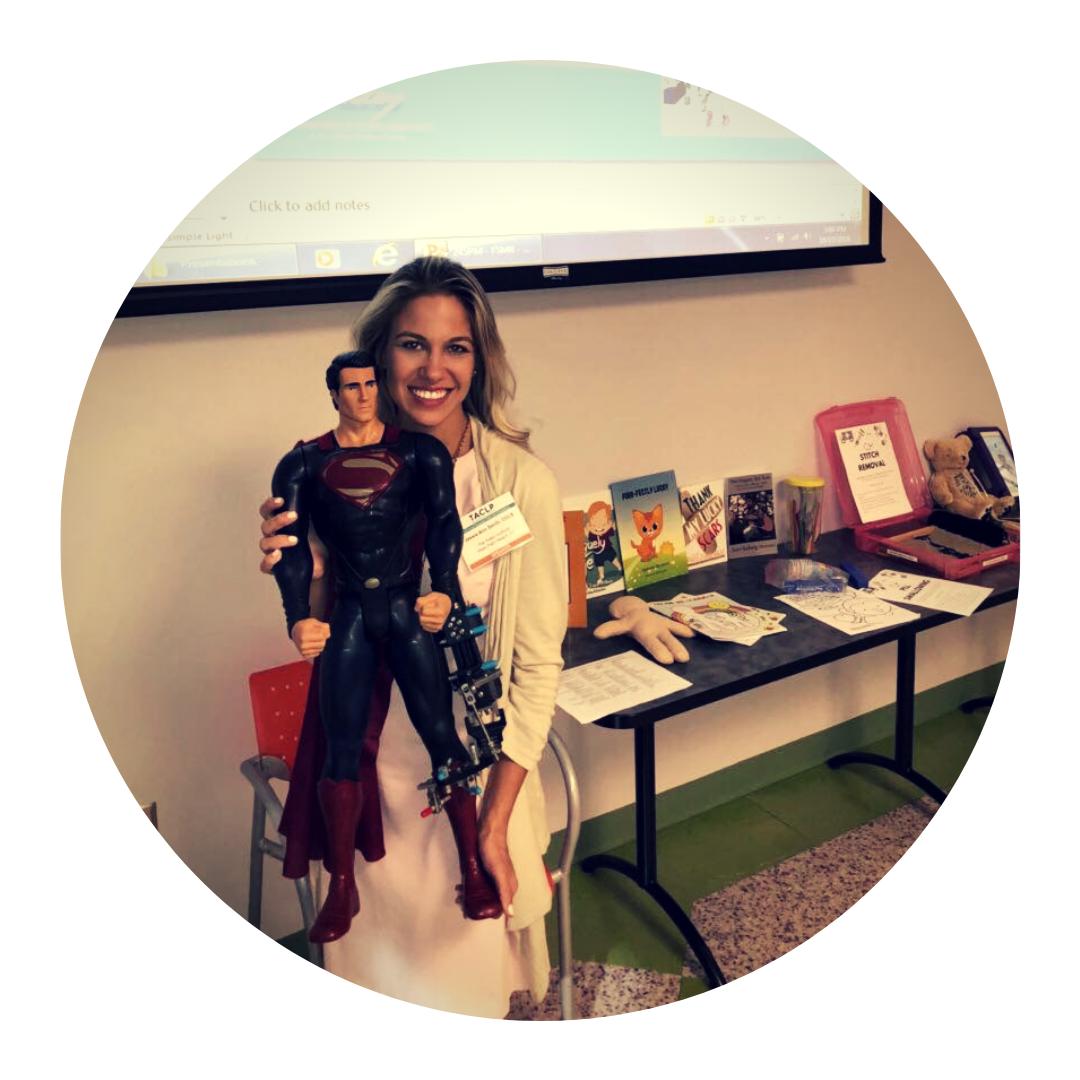 Jessie Smith guest contributor on Dose of Play #childlifespecialist #childlife #childlifeblog #familyblog #limbdifferences
