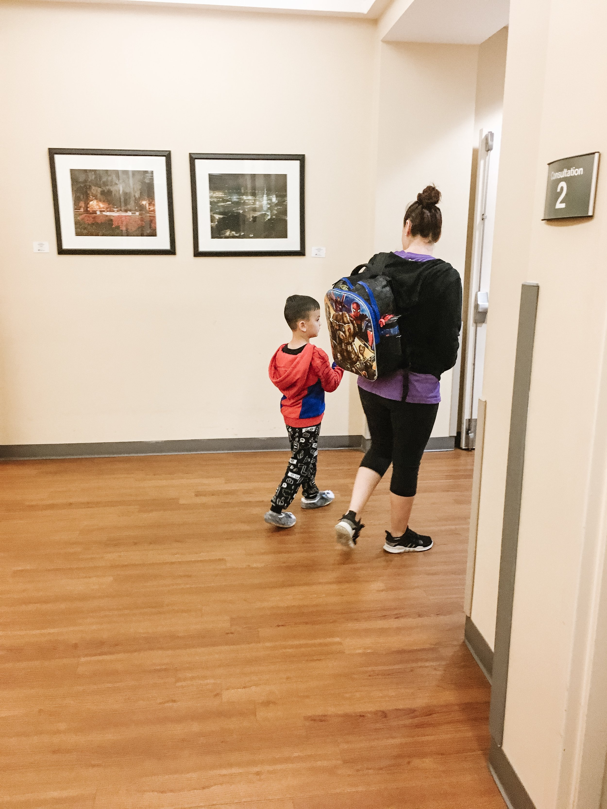 Parent testimonial - Dawn helped my son through his surgery. She helped prepare him prior to, by answering his questions and fears in ways a child would understand. She came to the hospital with us to comfort him and play games and also easy my worries! Dawn is amazing and I would highly recommend her to anyone!- Rachel
