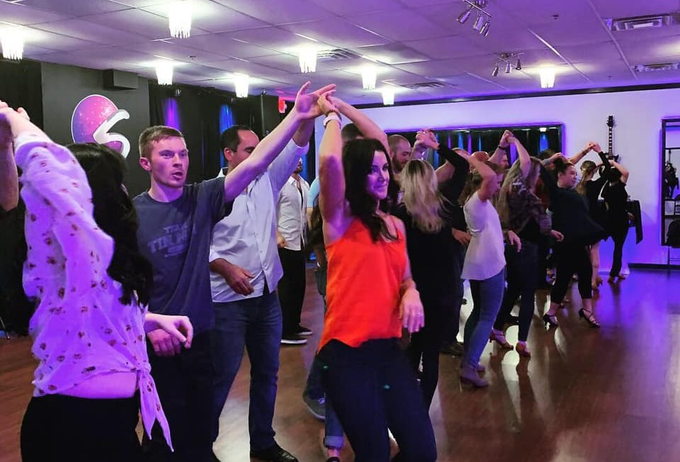 Social Dance Fridays - Learn 2 New Dances Every Friday at Smooth & Stay for our Social Dance Party! This Beginner Level Class Starts at 8:00pm & the party runs from 8:45 - 10:15p1st Friday - Foxtrot & Waltz2nd Friday - Salsa & Bachata3rd Friday - Swing & Hustle4th Friday - Rumba & Cha Cha