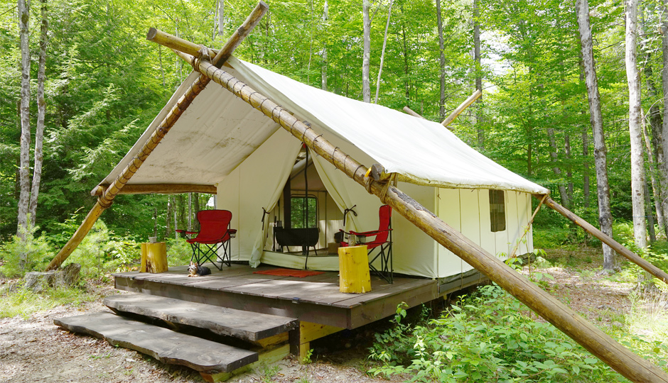 Posh Primitive, New York camping, New York glamping, best New York camping, New York nature, New York destinations