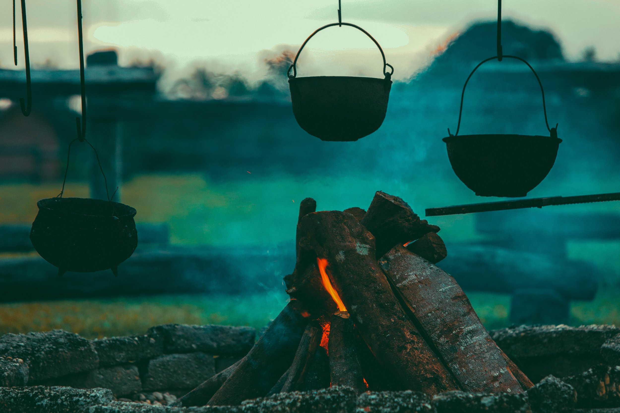 fancy camping food, make ahead gourmet camping meals, best campfire recipes, gourmet open fire cooking recipes, glamping food menu