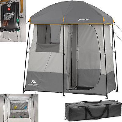 2 room shower tent, best shower tent, ozark trail shower utility shelter, shower tent walmart, shower tent amazon, double shower tent,