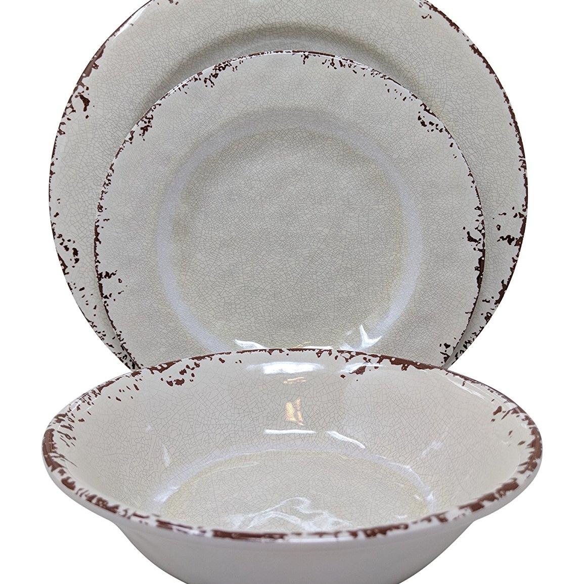 Rustic Melamine Dishware