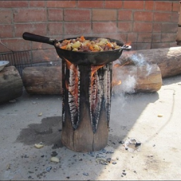 diy camp stove, diy camp oven, camping hacks, camping ideas