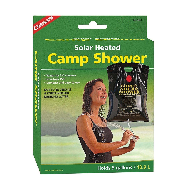 Coghlan's Solar Heated Camp Shower  -- $9.30
