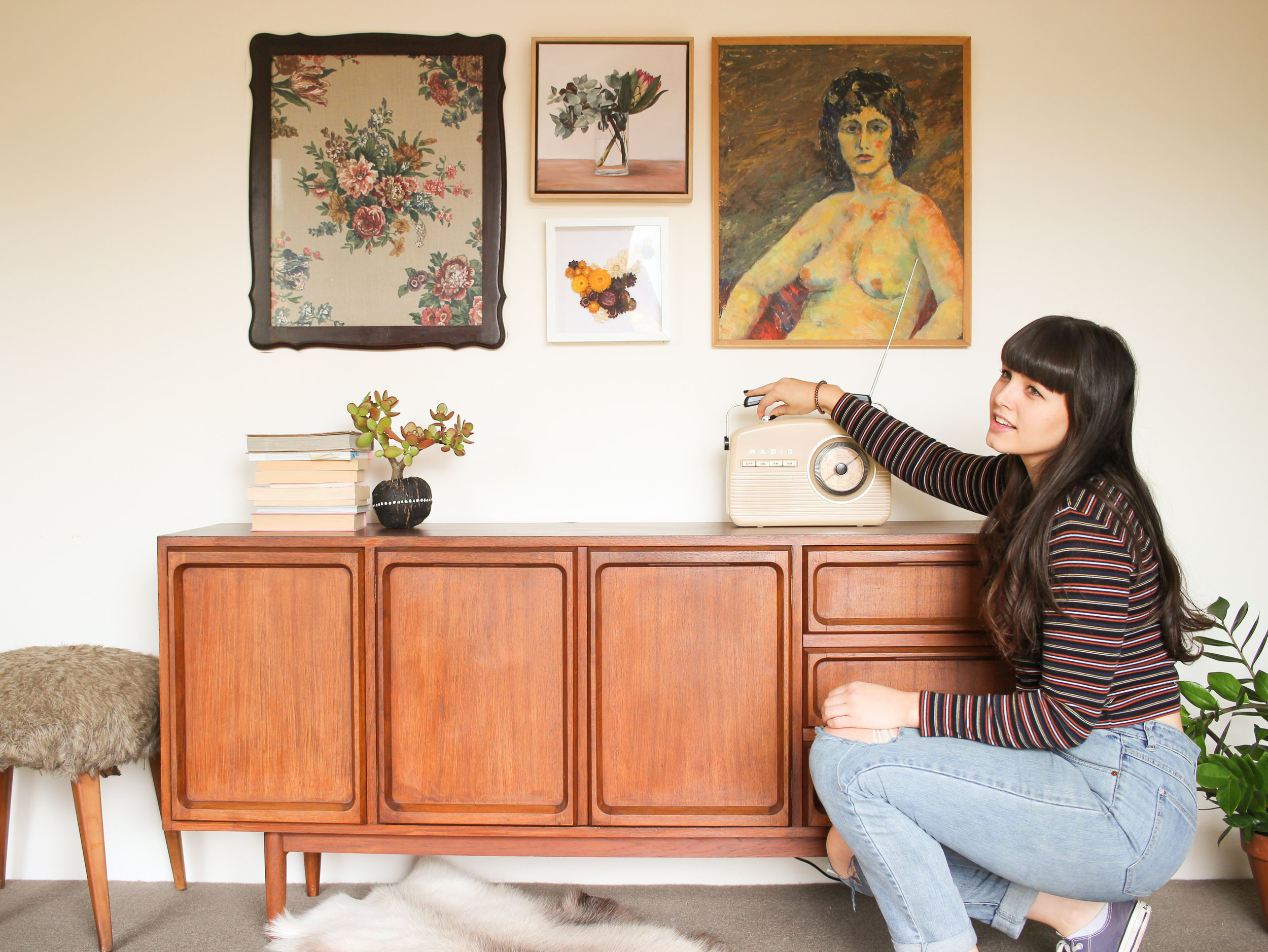 Music is a very important element when it comes to styling my home!