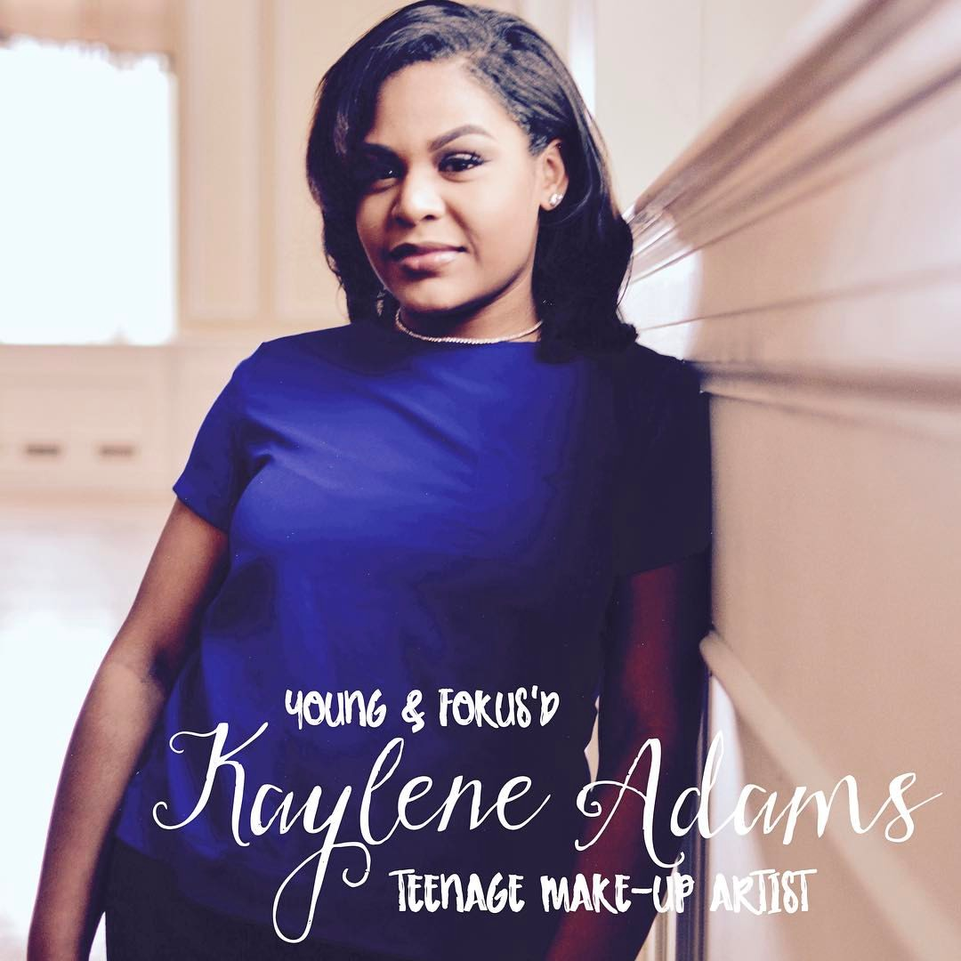 """I like the idea of enhancing people's beauty"" - -Kaylene Adams"