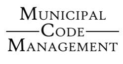Municipal Code Management
