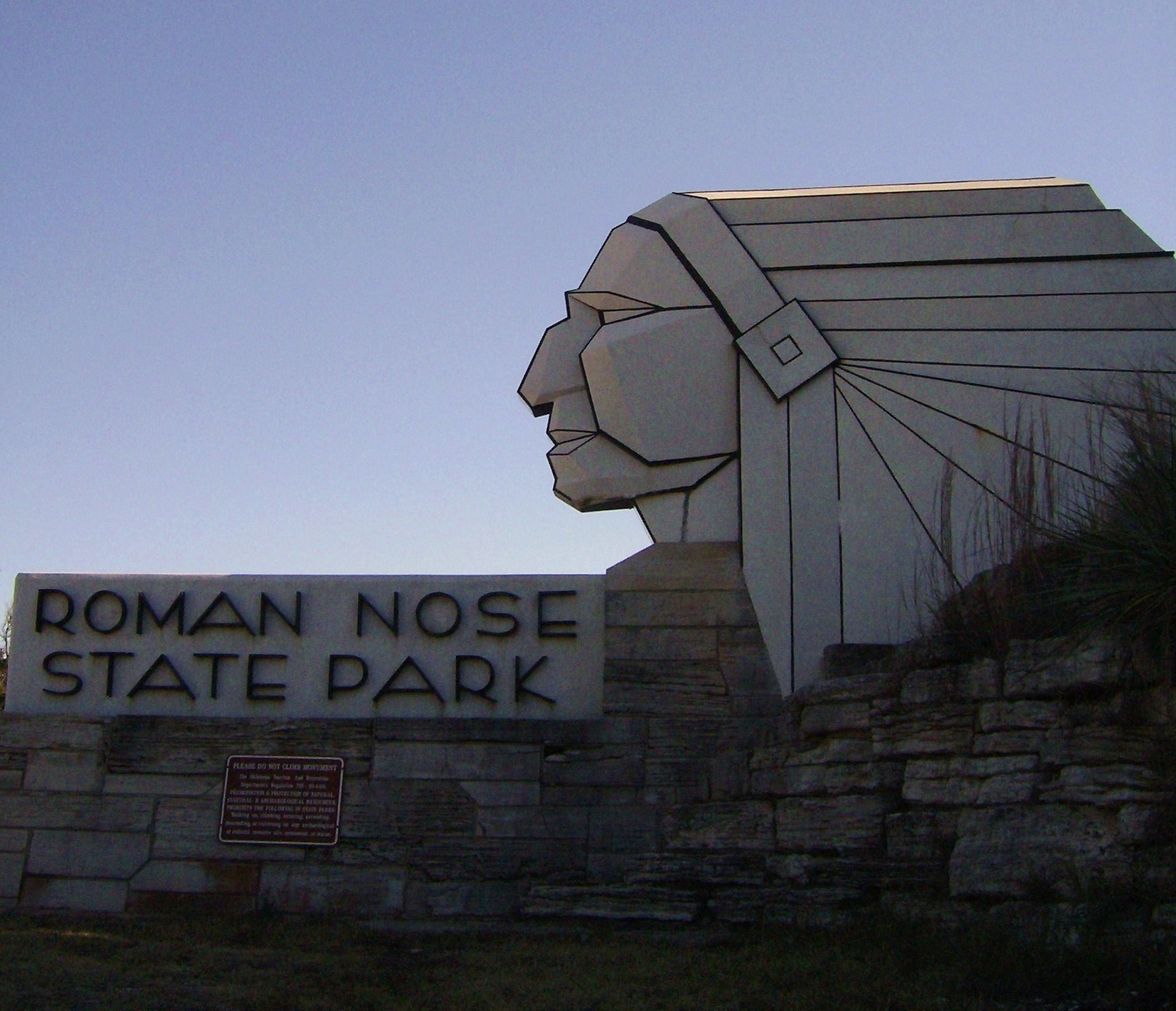 Roman Nose State Park in Watonga, OK