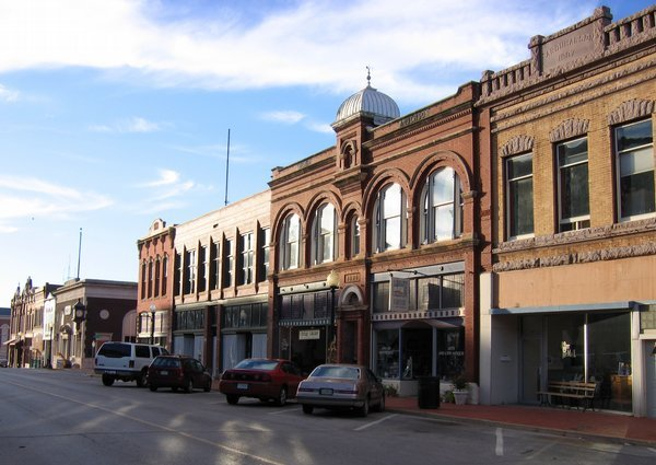 Downtown Guthrie, OK  BY-SA