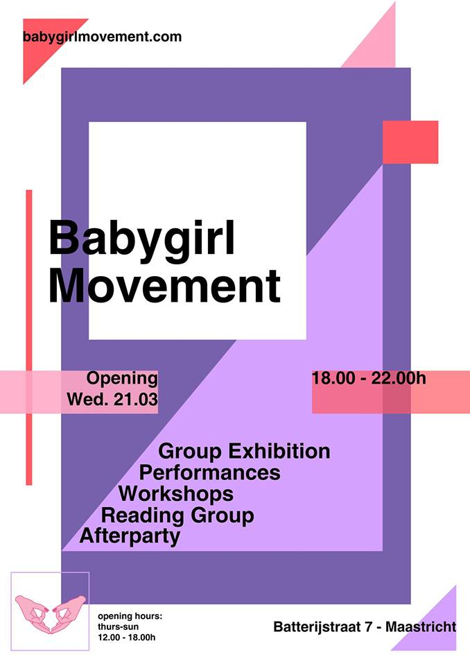 "Happy to be part of the first Babygirl Movement exhibition with HOIHOI-  ABOUT   ""The Babygirl Movement stands for radical self love by and for women embracing and celebrating femininity, female qualities and creativity. We are a community connecting and promoting feminist and female artists.   The Babygirls are strong yet delicate women. ""    check out the link below for more information..."