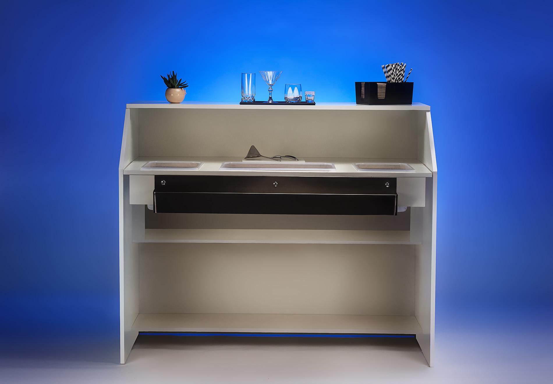 Modern LED-Lit - back