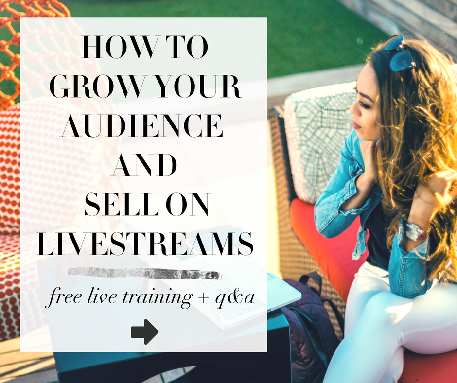 how to sell on facebook live