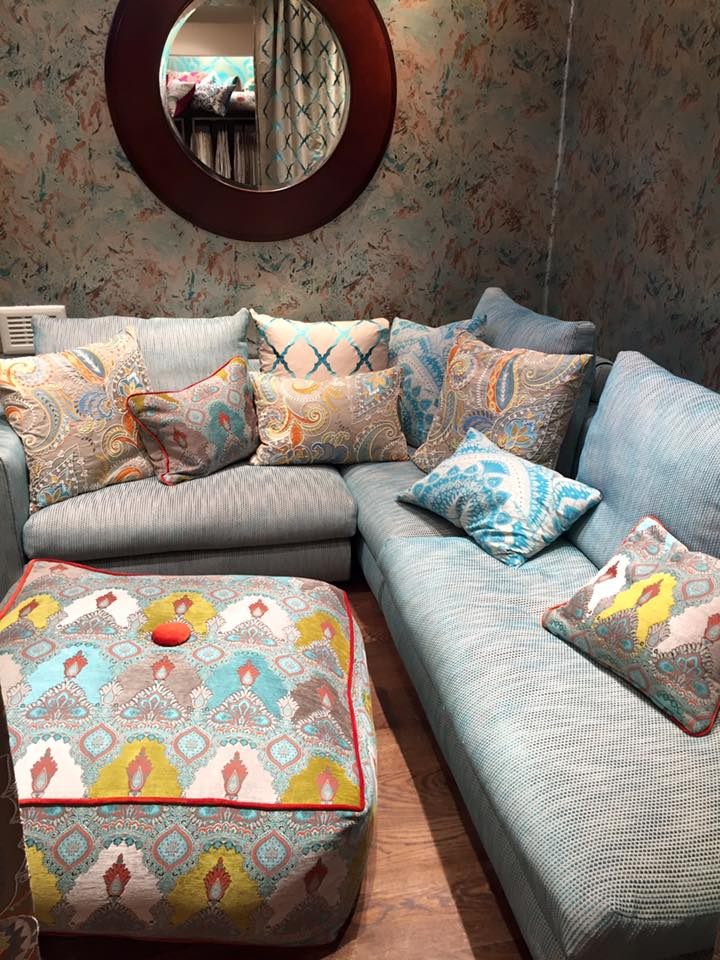 Matthew Williamson sofa and cushions