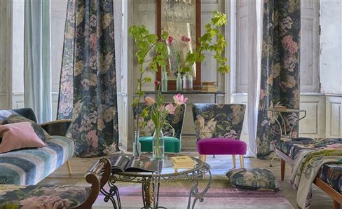 Designers Guild curtains and fabrics from the new collection