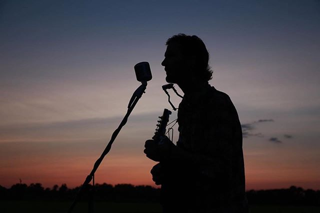 Come see this extremely handsome silhouette sing some songs on Friday @saintapnj with @surferblood 👌🏻 📸: The mighty @christianboho42 #asburypark #ap #asbury #localmusic #themorganfreemasons #thesaintnj #surferblood