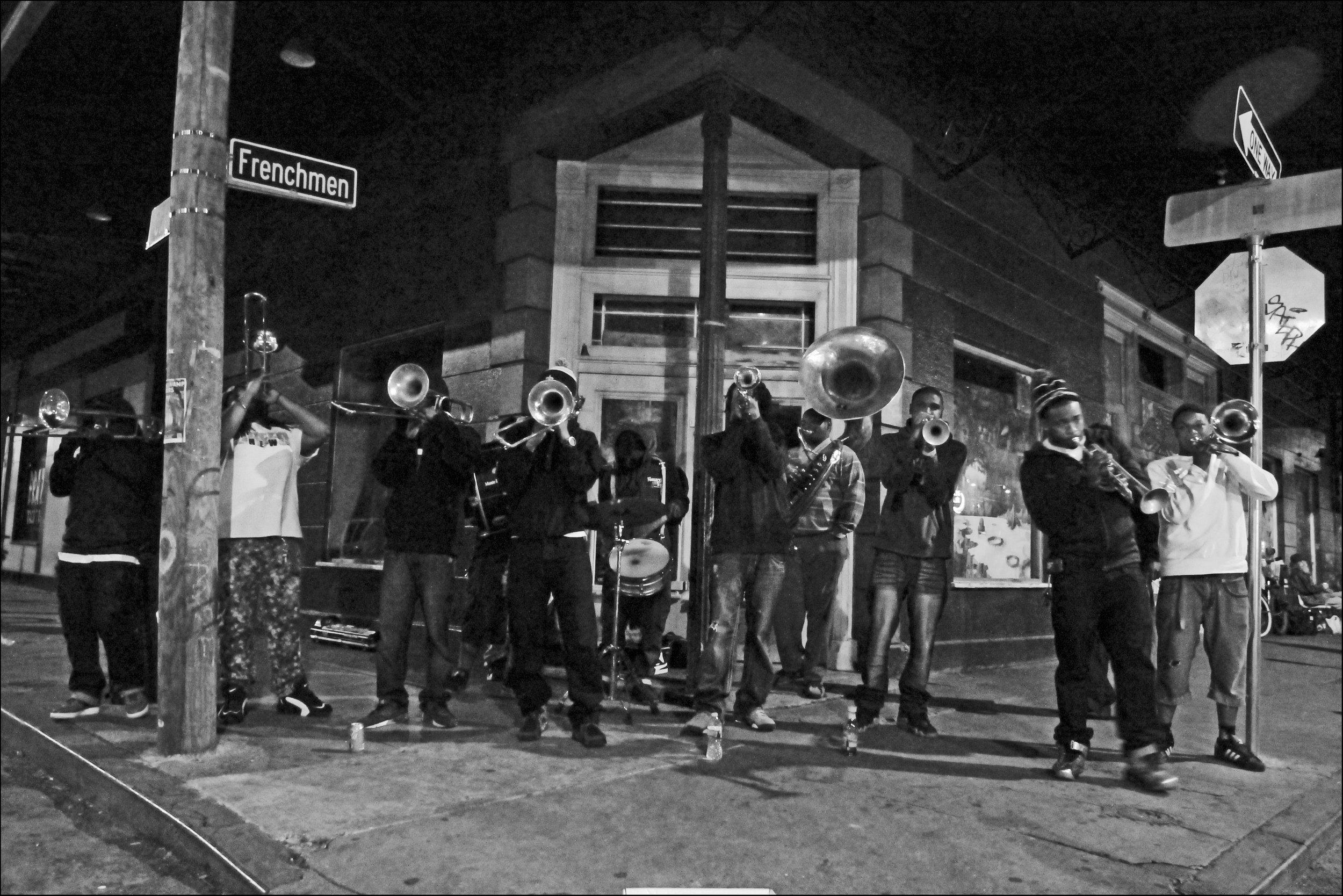 Frenchman Street, New Orleans LA, 2014