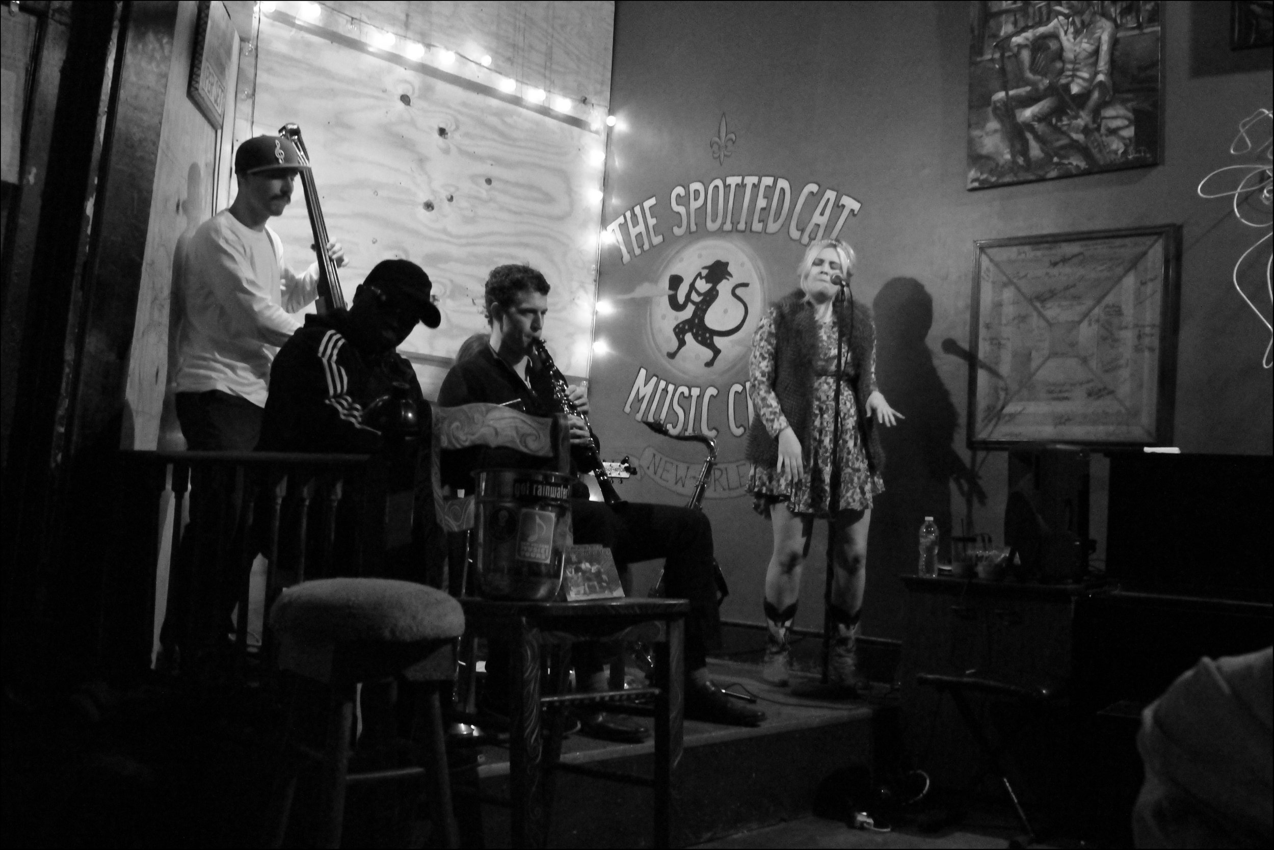 The Spotted Cat Music Club, New Orleans LA, 2014