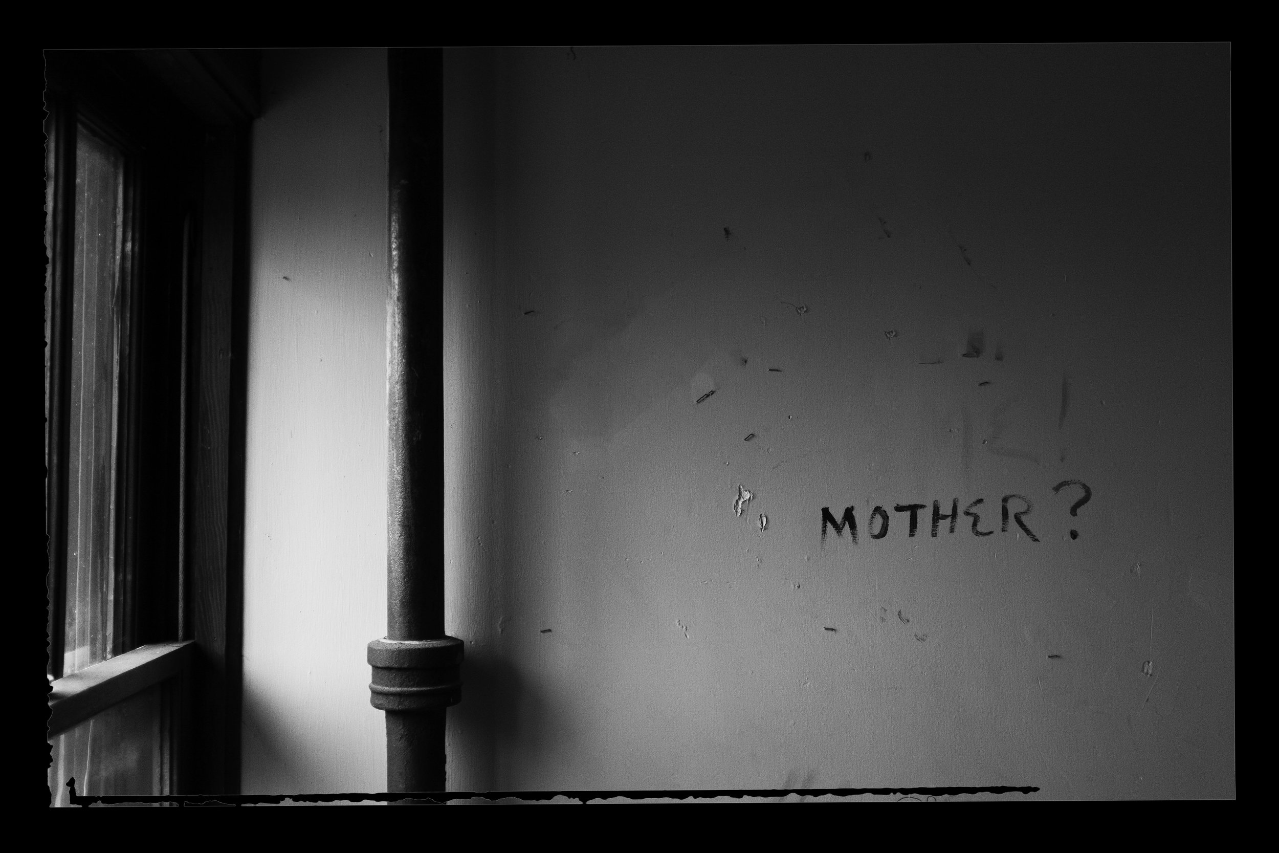 """Mother?"" Abbey House, Rock Island IL, 2017"
