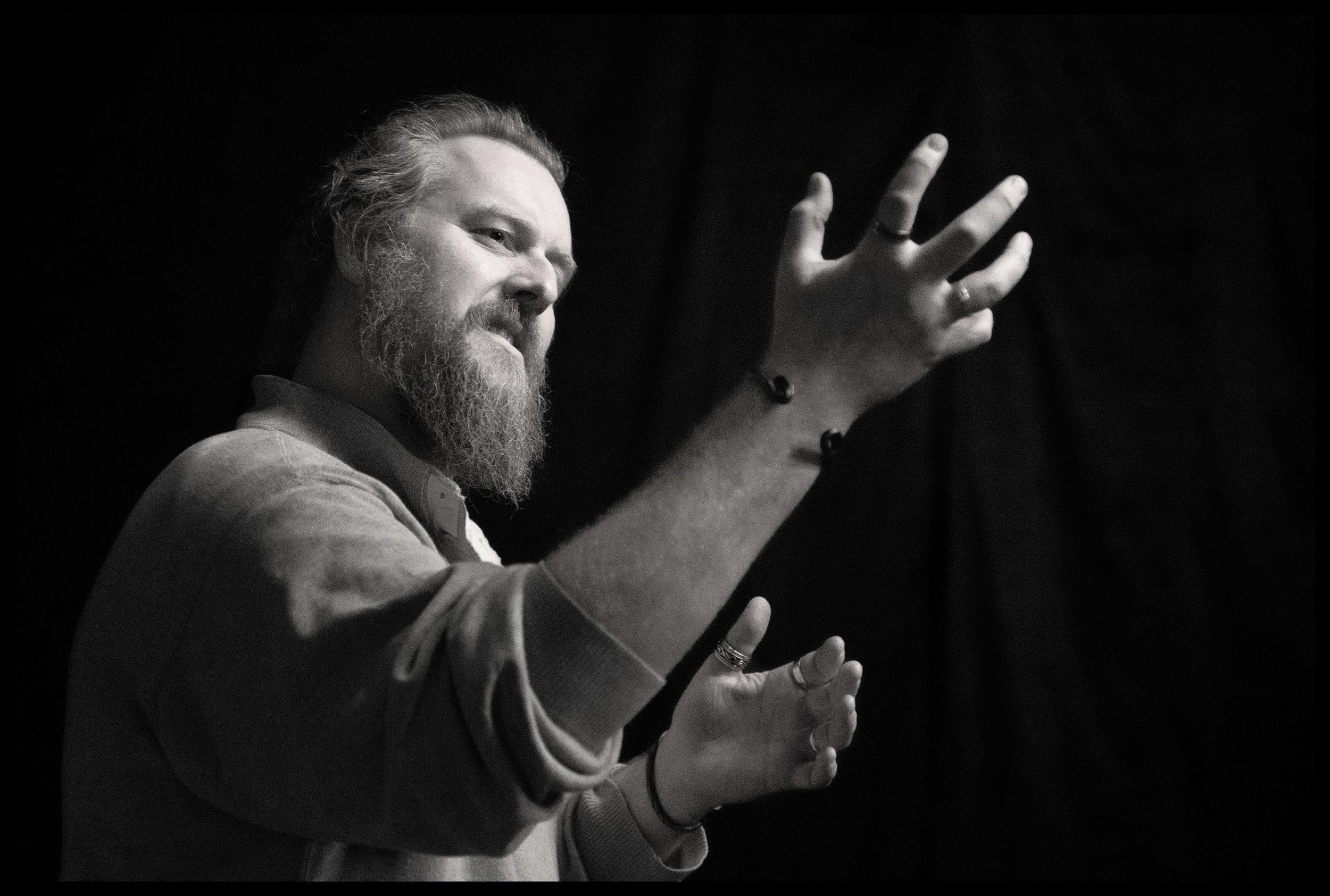 Aaron E. Sullivan,  Macbeth  (rehearsal)