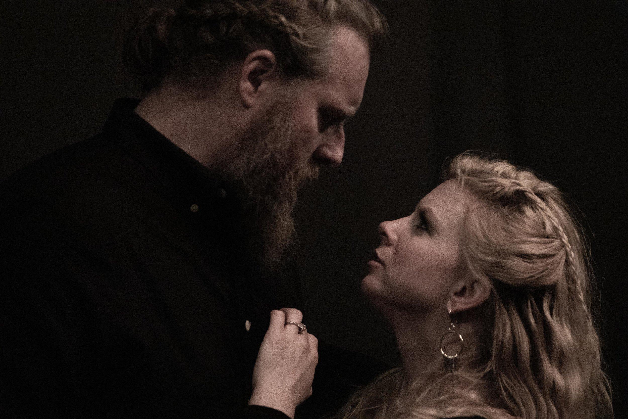 Aaron E. Sullivan and Maggie Woolley,  Macbeth