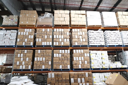 WAREHOUSING SERVICES    We have over 2000 square metres of storage space to make sure that there is enough storage space for a multitude of your products. Whether they come in bags, sacks, boxes or tins, as long as it fits on a pallet, then we will have the space for you!
