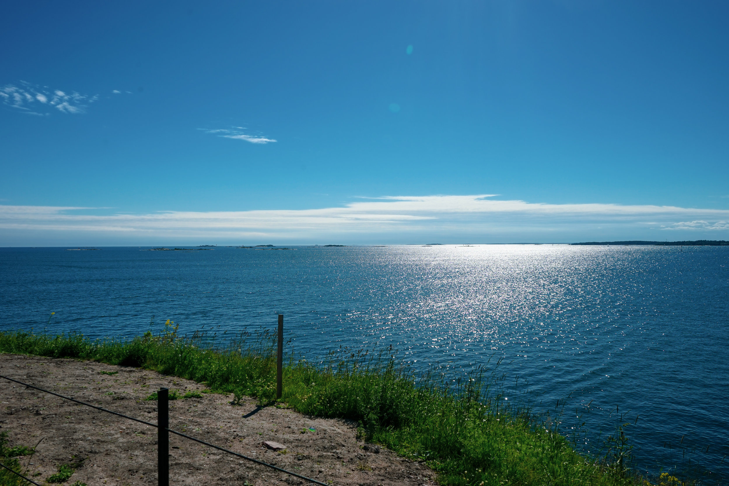 小海島的邊陲,是波羅的海的開端。每一次遠眺大海,我都不禁想像另一端陸地的模樣。