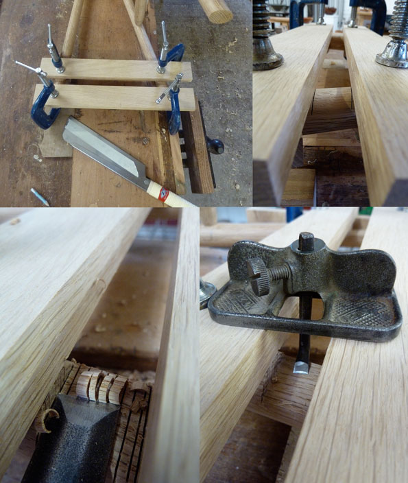 Delicate jointing for rack housing