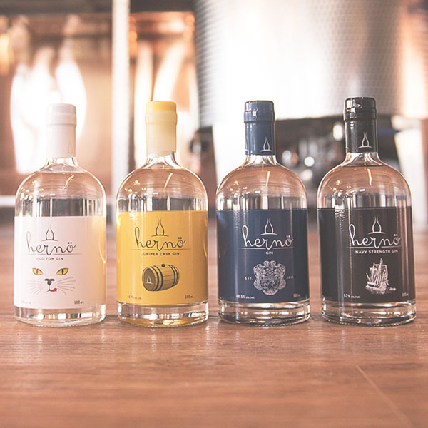 best product - hernö gin