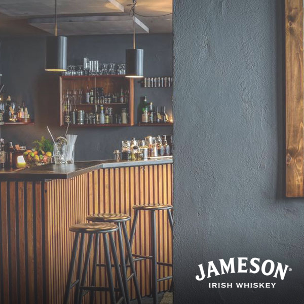 Best cocktail bar presented by jameson whiskey  - duck & cover