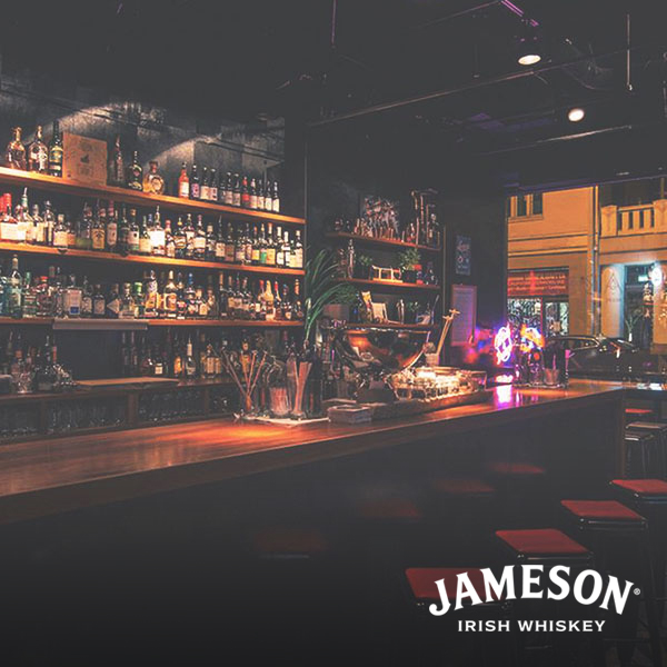 Best cocktail bar presented by jameson whiskey  - a21 decades
