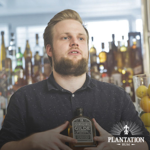 Best bartender Presented by plantation rum  - jørgen dons