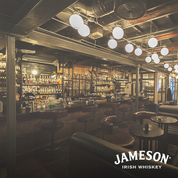 Best cocktail bar presented by jameson whiskey  - himkok