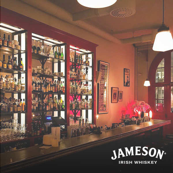 Best cocktail bar presented by jameson whiskey  - bar hommage