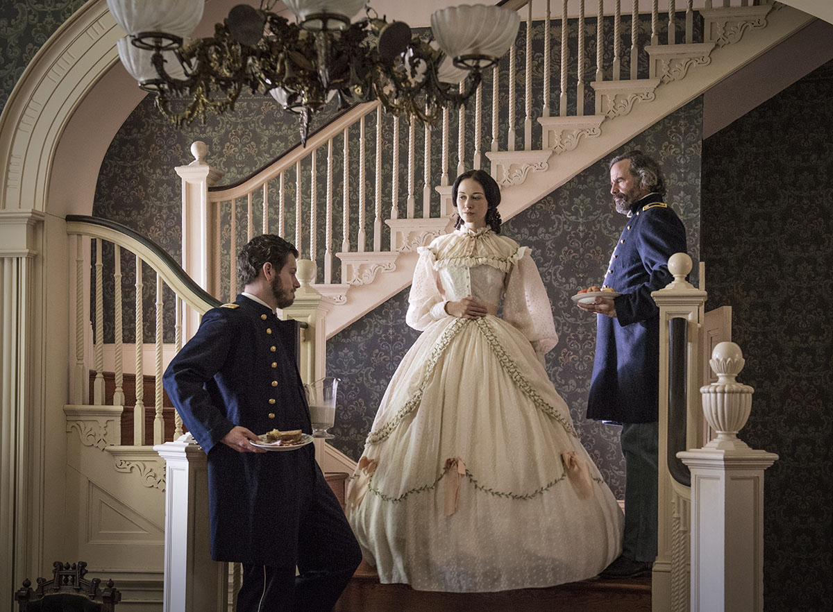 Amy designed the costumes for both seasons of the original PBS Civil War series,  Mercy Street  (2016/2017).