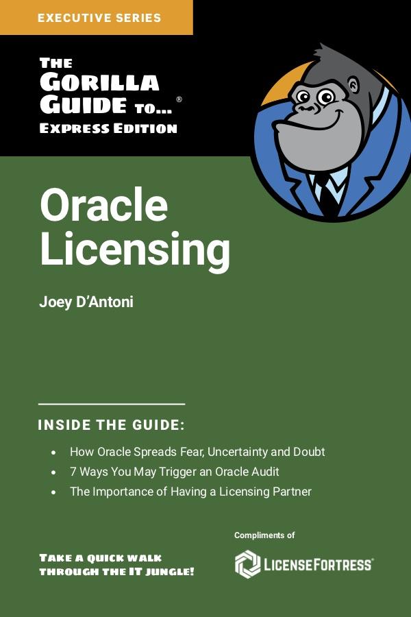 Gorilla Guide Oracle Licensing