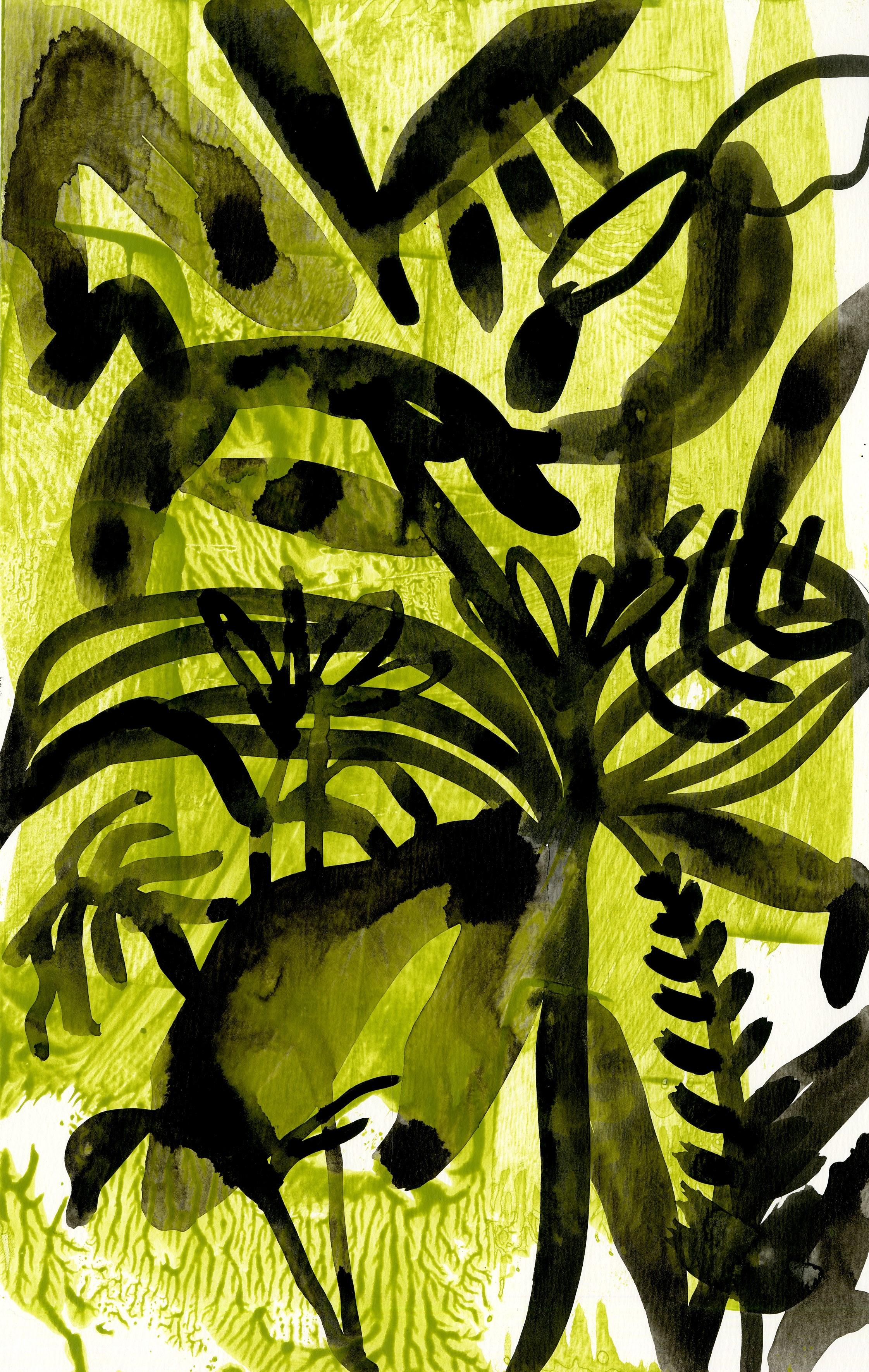 Chlorophyll tea V