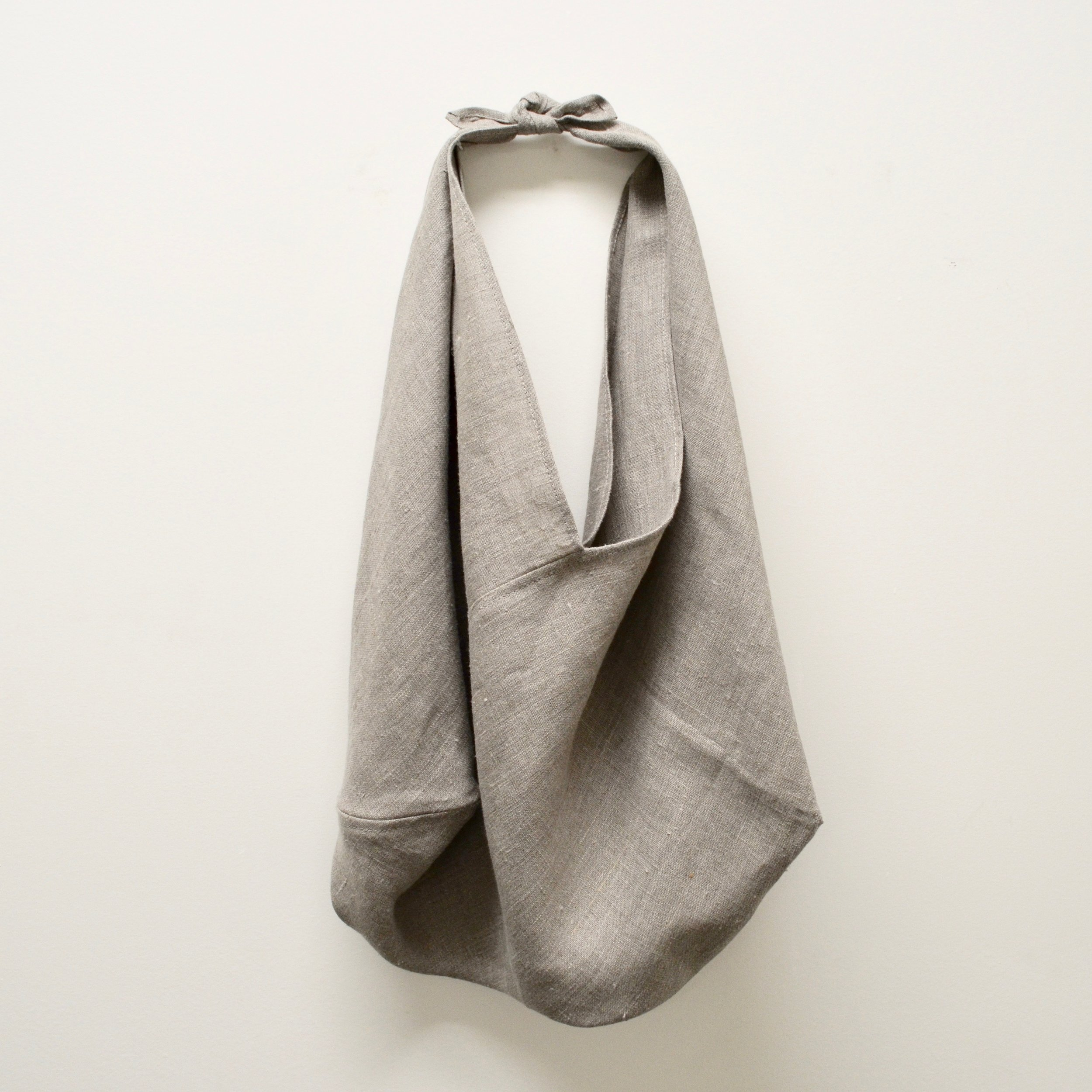 - LARGE LINEN BAG IN NATURAL