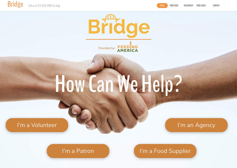 Bridge: A Platform Built for Feeding America   Design Research | Service Design | Platform Design | User Interviews