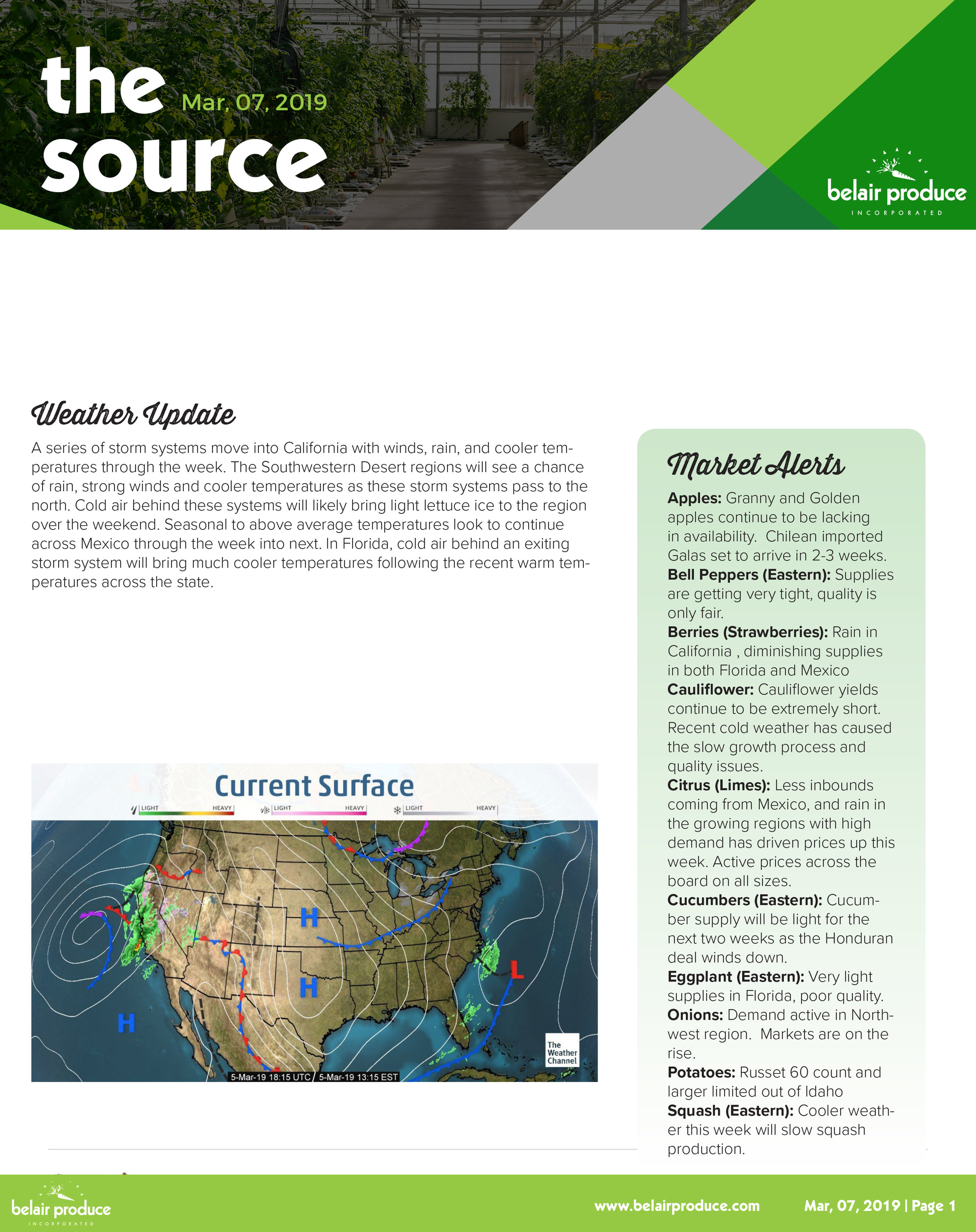 The Source Belair Produce -