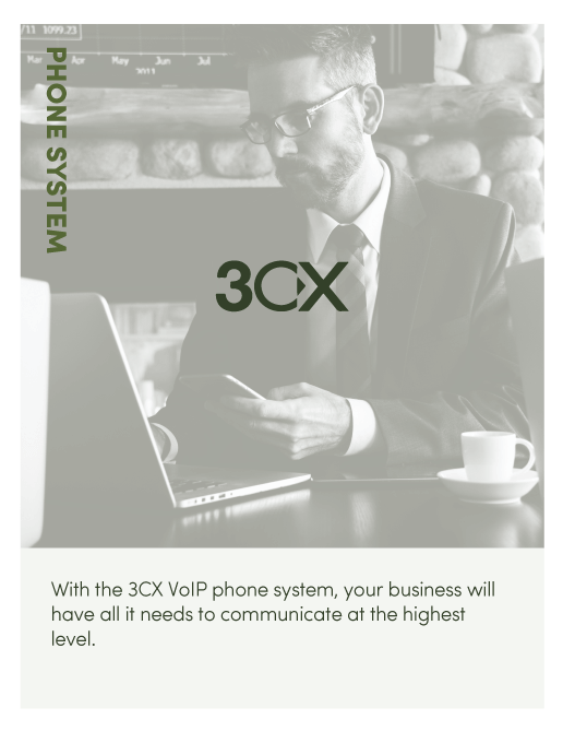 With the 3CX VoIP phone system, your business will have all it needs to communicate at the highest level.