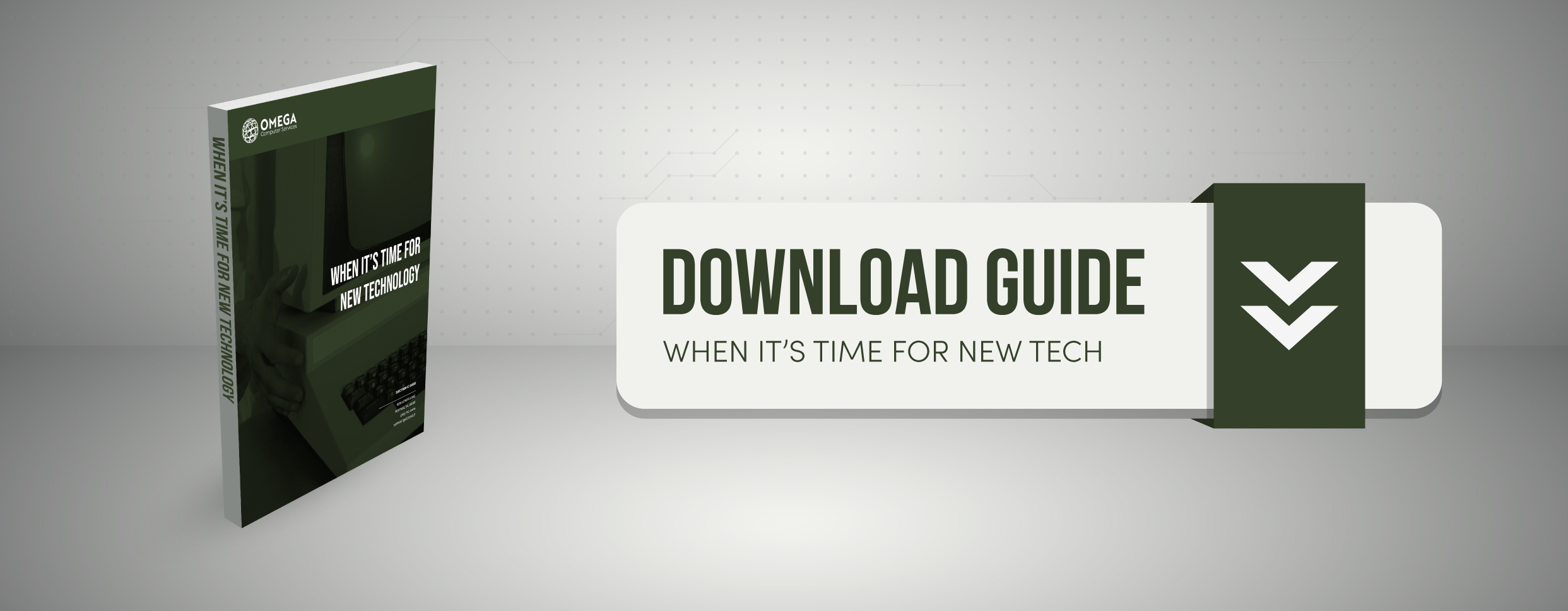 New technology guide. When it's time for new technology guide.