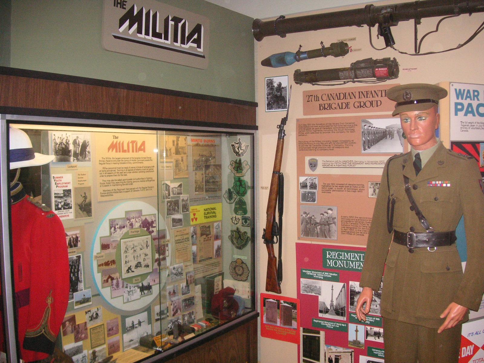 Former museum display