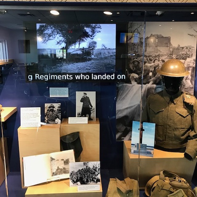 Drop in to the Royal Canadian Legion Branch 215 to see our display commemorating the anniversary of the D-Day landings. #royalwinnipegrifles #royalcanadianlegion215 #ww2 #worldwar2 #secondworldwar