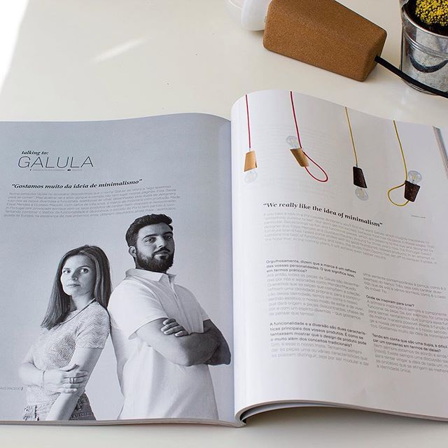 Get to know a little more about the designers duo Mendes'Mendes and the brand they founded at TRENDS magazine.  #mendesmacedo #mmdesign #mema #designstudio #productdesign #interior #trends  #cork #design #designers #madeinportugal #galula #porto #portugal