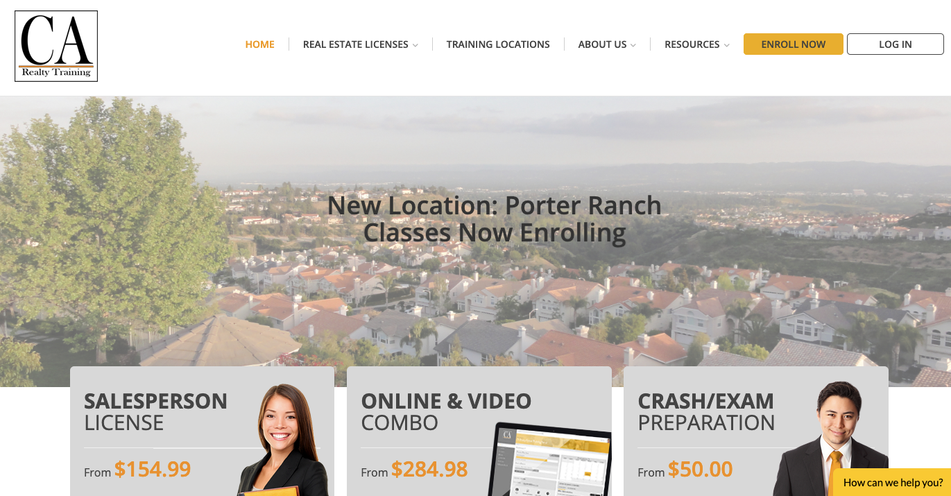 California Realty Training - CA Realty needed a refined marketing strategy and ongoing direction for their young marketing team. Since becoming a client, they've built a scalable system for acquiring new customers at a predictable cost (CAC).