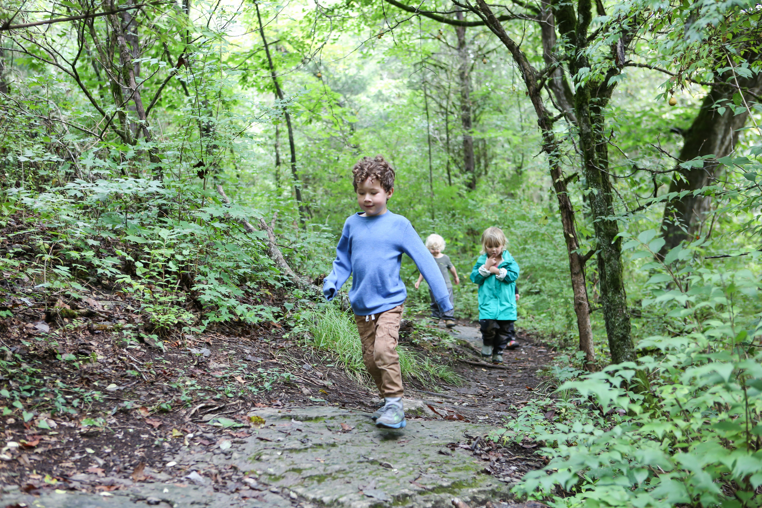 "Our children love taking ""actual"" journeys through nature."