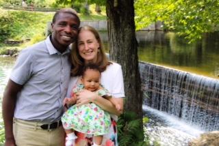 The Shitemi Family - Pastor Shtem, his wife Elizabeth, and their daughter Niara